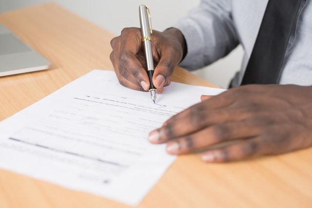 Filing Restraining Order Forms in California